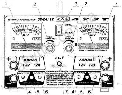 схемы автомобильных устройств