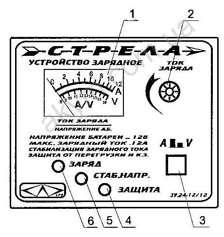 Зарядное устройство для автомобильного аккумулятора Кулон-707а