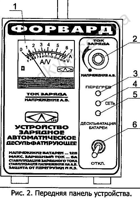 Для заряда аккумуляторов от 20