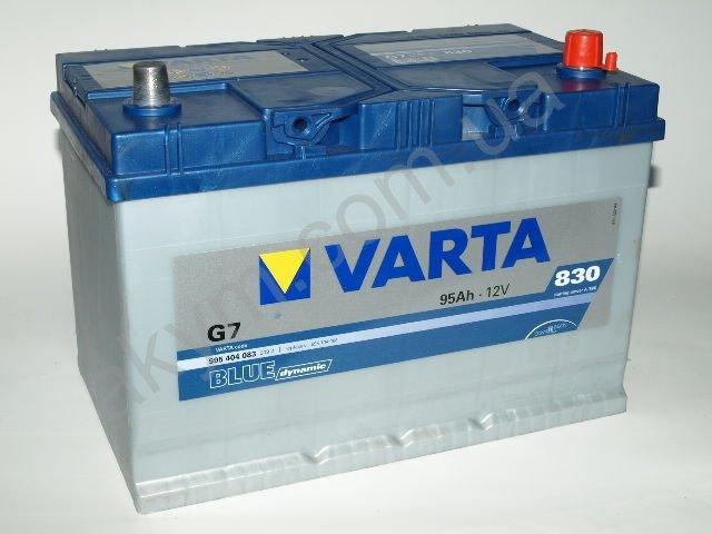 Аккумулятор Varta Blue Dynamic 95   avtokumcom